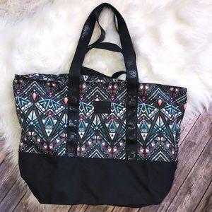 VS Pink Geometric Aztec Colorful Bag